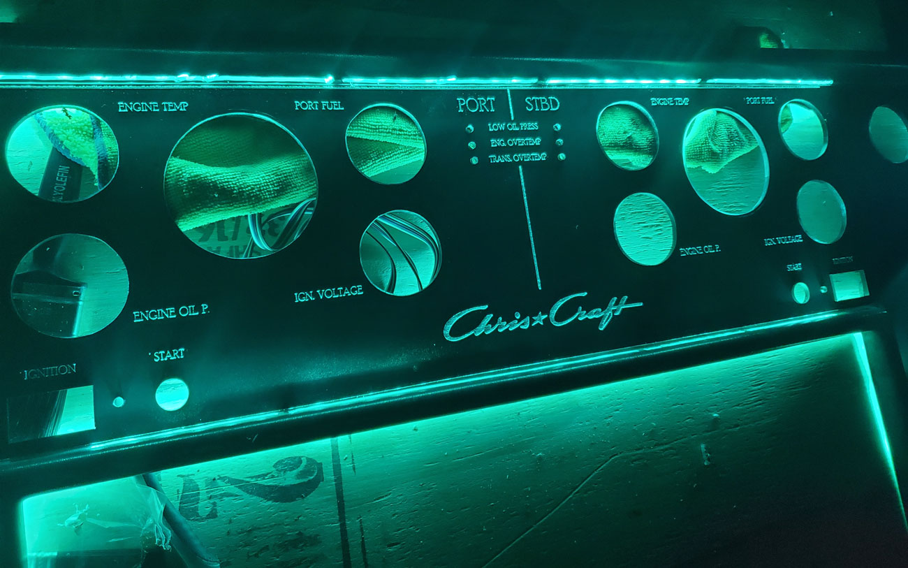 A Reimagined Chris Craft Dashboard