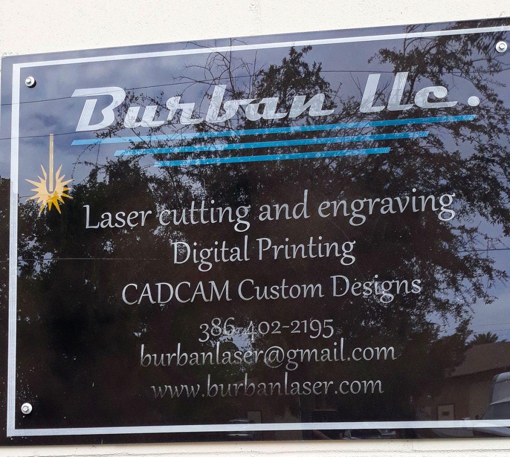 Burban Laser Custom Signs