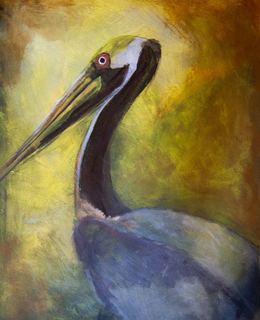 artwork onto canvas © Lois Reed